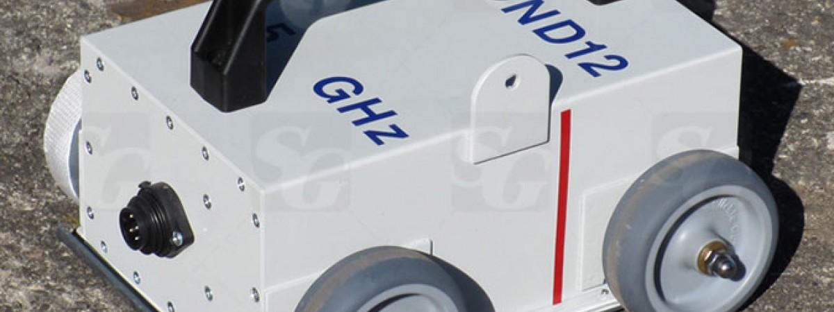 Антенна 1.5 ГГц поверхностная, экранированная со встроенным мерным колесом