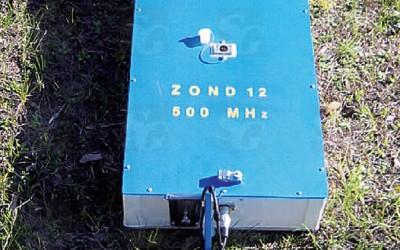 Антенна 500 MГц поверхностная, экранированная